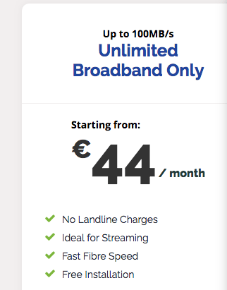 Pure Telecom Unlimited Broadband Only