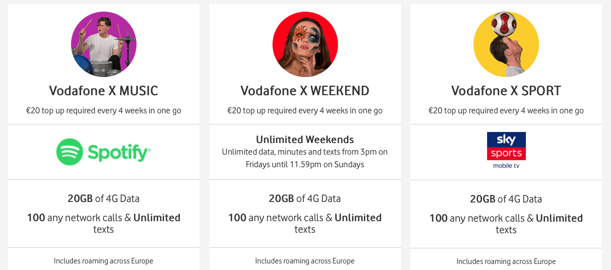 Vodafone X: Something for Everyone