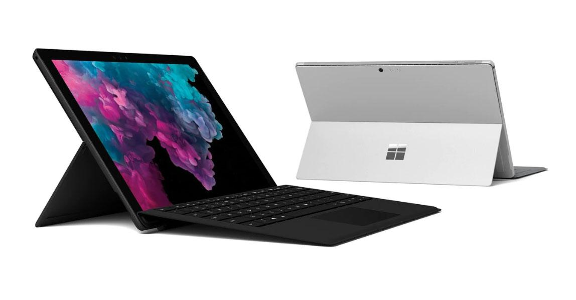 The Best Overall Laptop: Microsoft Surface Pro 6