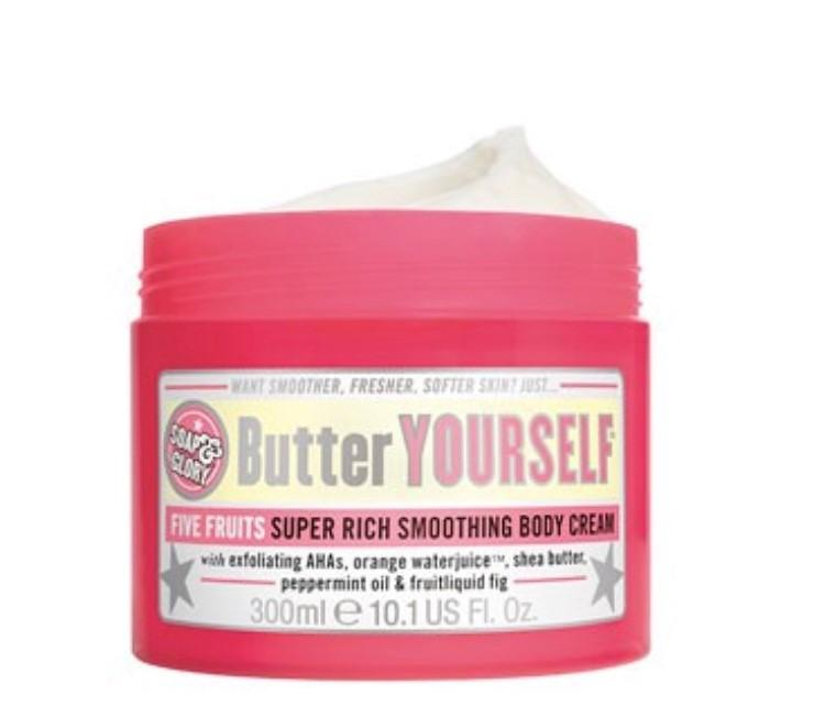 Soap & Glory Butter Yourself Body Cream 300ml €13.00