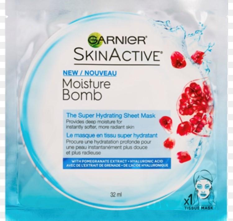 Garnier Moisture Bomb Tissue Mask €3.00